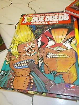 JUDGE DREDD 1991 annual-2000AD-RETRO VINTAGE COMIC