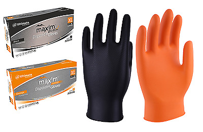 UCI DG-Maxim™ Premium Extra Thick NBR Nitrile Disposable Gloves 50's - Tattoo