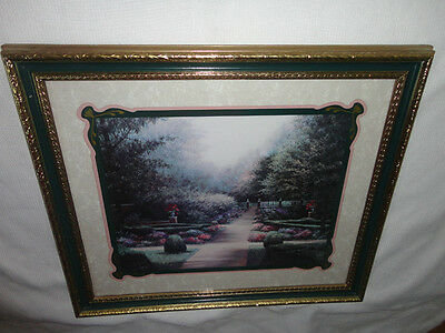 Home Interiors Large '' Garden Path '' Picture  Gorgeous   24'' x 27.5''