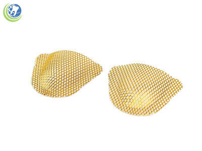Dental Lab Grid Strengtheners Frego Reinforcement Mesh 10 Pcs Gold Plated Upper