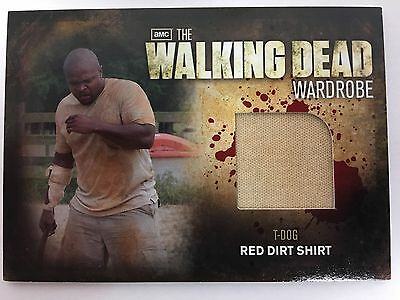 Cryptozoic Walking Dead Season 2 Costume M25 T-Dog Wardrobe Trading Card