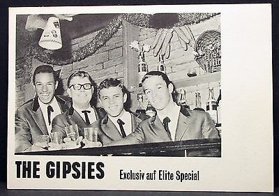 The Gipsies - Elite Special - Foto Autogramm-AK (Y-3300