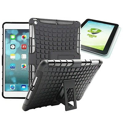 Hybrid Outdoor Protective Case Black for iPad Air 1 Bag + 0.4 H9 mm