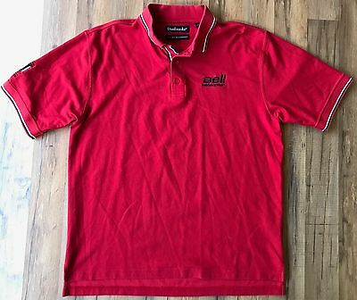 Bell Helicopter Pro Pilot Mag Red Dunbrooke Moisture Management Polo Shirt XL