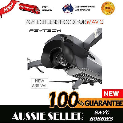 Mavic Pro Lens Camera Protector SunShade Hood Glare Shield Gimbal Shade - AU PGY
