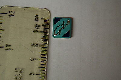 Genuine Piaggio Vespa GTS 'GTS' Mudguard Crest Badge - New!