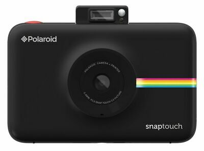Polaroid Snap Touch Instant Print Digital Camera With LCD Display (Black) with Z