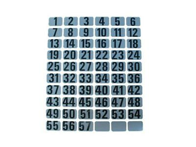 Coach & Bus  Seat Numbers