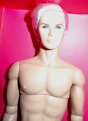 Fashion Royalty Integrity The Industry Beauty Boss Cabot Clark~Nude Doll~