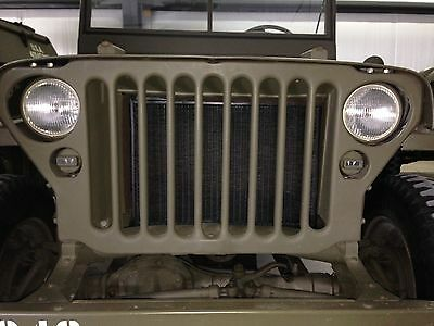 Jeep Willys MB CJ2A Radiator Complete Willys MB Ford GPW G-503 BEST QUALITY