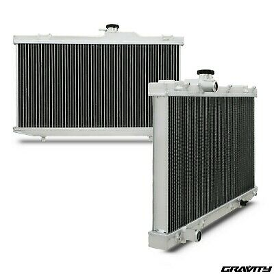 40mm ALUMINIUM RACE TWIN CORE RADIATOR FOR TOYOTA STARLET EP82 EP91 1.3 TURBO
