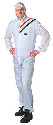 Colad BodyGuard Reusable White Painter Coverall / Overalls Medium, Large, XL