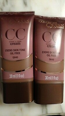 COVERGIRL QUEEN Collection Cover+Care CC Cream Evens Skin Tone (Assorted Shades)
