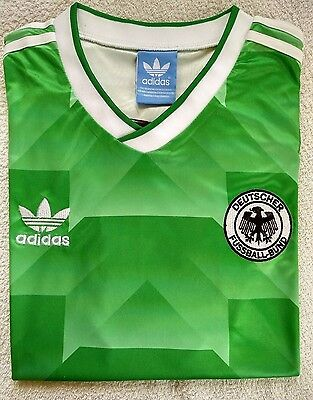 1990 West Germany Away retro soccer football shirt jersey kit - XL