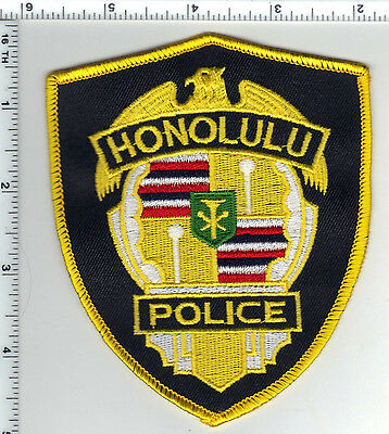 Honolulu Police (Hawaii)  Shoulder Patch - new from the 1990's