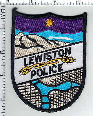 Lewiston Police (Idaho) Shoulder Patch - new from the 1980's