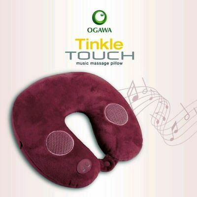 OGAWA - Tinkle Touch Music Massage Pillow - Built-In Speakers to Play your Mp3!!