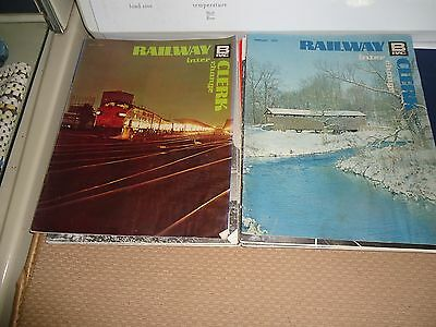 Railway Clerk Inter Change Magazine May,1972 & FEB  1972