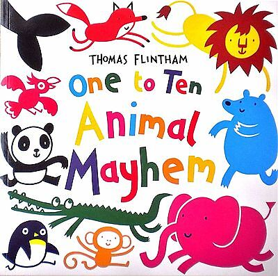 Animal Mayhem | One to Ten | Age 1+ | Early Learning |Counting Book for Toddlers