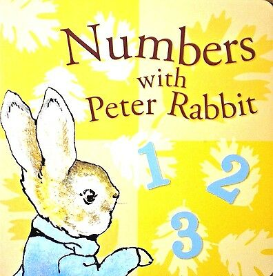 Numbers with Peter Rabbit | Children's Board Book | Early Learning | Babies |New