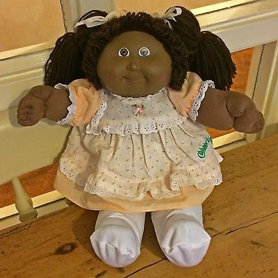 Vintage Coleco 1980's Cabbage Patch Kid Girl Doll Original Clothes