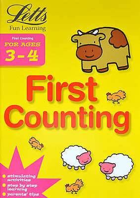 Learning Counting age 3-4 children's activity book new