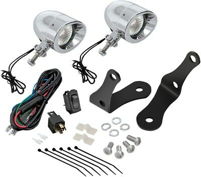 "Show Chrome 30-109 2 3/8"" Forged Bar Light Kit Chrome"