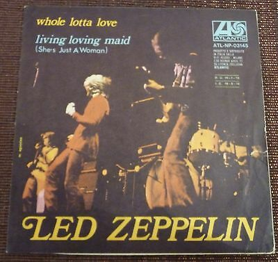 "# Led Zeppelin WHOLE LOTTA LOVE Only Cover NO RECORD! (EX) 7""-S00960"