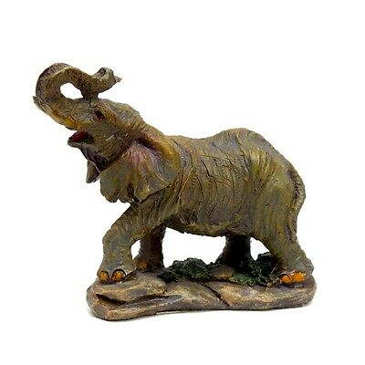 "Small Elephant Collectible Statue 2.5"" Tall Lucky Elephant Figurine 5"