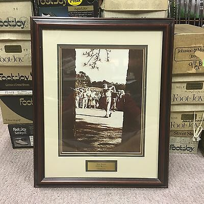 "Vintage Ben Hogan ""1953 The Masters Champion "" Double-Matted Photo"