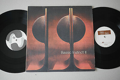2 LP - BASSIC INSTINCT II - Stereo Deluxe Germany - Chill Out Lounge Downtempo