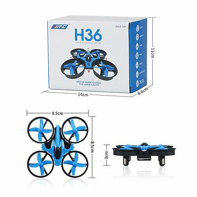 JJRC H36 Mini drone 6 Axis Gyro Headless One Key Return RC Quadcopter 2.4G -Blue