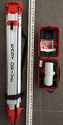 Leica Na720 Level Transit With Tripod And Rod