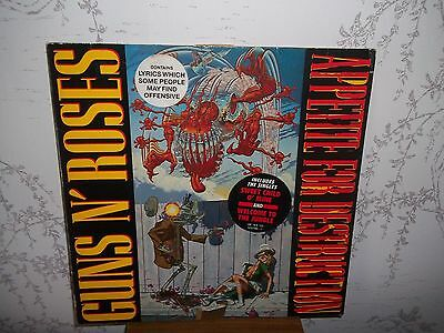 Guns N' Roses ‎– Appetite For Destruction - 1987, UK, Vinyl, LP
