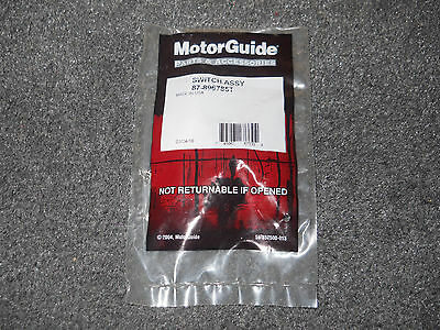 MotorGuide Tour Edition on/off switch PN: 896785T