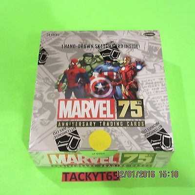 Marvel 75Th Anniversary Sealed Box 2014 Rittenhouse