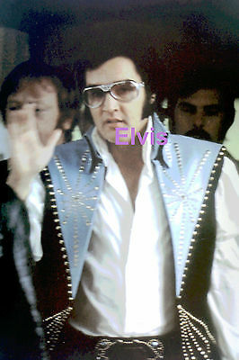 Elvis Presley Leaving Hotel Red West Philadelphia Pa Philly 6/24/74 Photo Candid