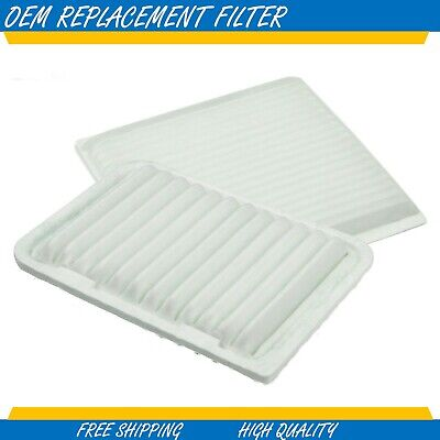 Toyota Cabin & Air Filter Combo For Toyota Highlander 3.3L Engine 2004 - 2007