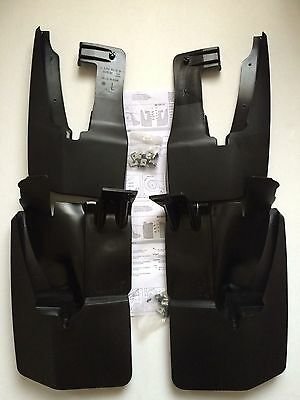 New Genuine Vw Crafter 2006-2016 Front & Rear Mud Flaps Set + Protective Film
