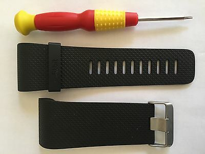 New Replacement Strap: Fitbit Surge (Large) WITH BUCKLE posted from the UK