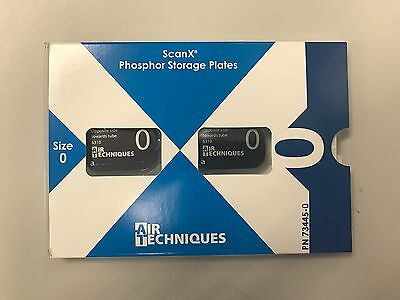 NEW Scan X Phosphor Storage Plate Intra oral PSP Size #0 PEDO (2-Pack) #73445-0
