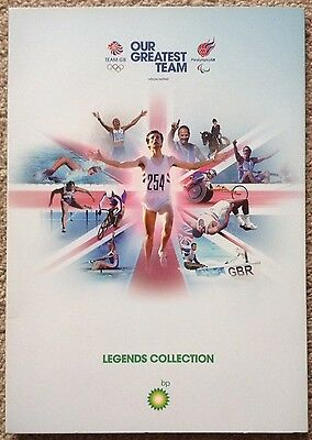 "Olympic Team GB Our Greatest Team Legends Collection Coins ""12 Coins"""