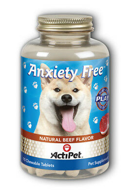 ActiPet Anxiety Free Dogs Chewable Beef 90 ct