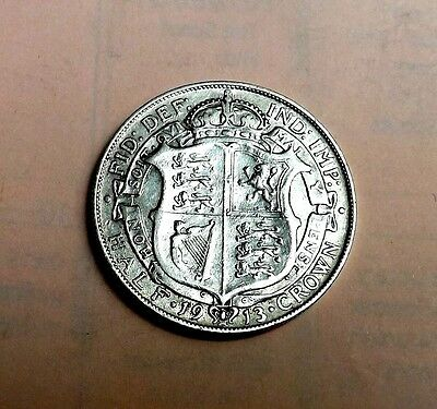 George V 1913 Halfcrown Very Nice Condition  Very Nice Rare Coin