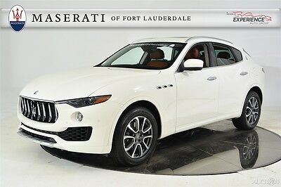 2017 Maserati Other Luxury Certified Pre-Owned CPO Premium Sound Drilled Ventilated Panoramic Blind Spot Sensors Paddles Radica