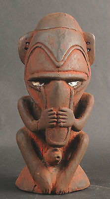 Male Ancestor Spirit Figure Sepik River of Papua New Guinea