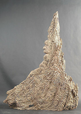 Large Heavy Spiritual Carving from Middle Sepik River of Papua New Guinea