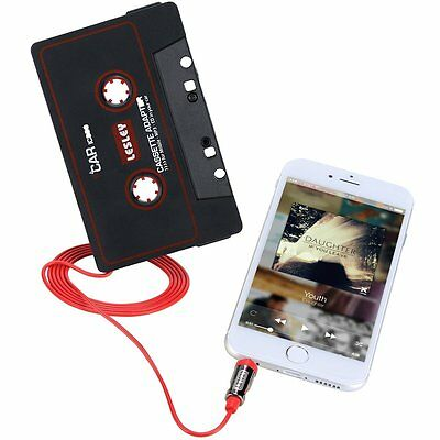 Auto Audio Cassetta Adattatore Convertitore Music Lettore Per Mp3 Ipod Cd Md