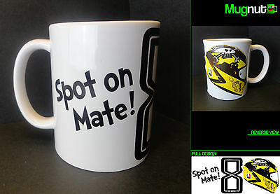 Guy Martin #8 - Ceramic Mug - Motorbike Racing Isle of Man TT Moto - 11oz Gift