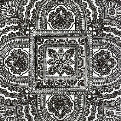 3 Paper Napkins for Decoupage / Parties / Weddings - Black and White